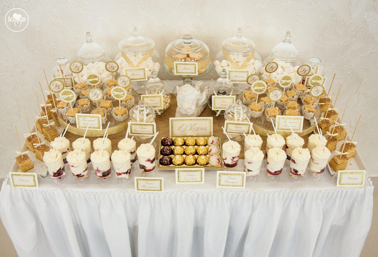 кэнди-бар золотая свадьба выездная регистрация церемония росаись в шатре печерское предместье декор шатра банкетного зала ресторана Валебана украшение свадьбы свадебное агентство ЛавМи могилев