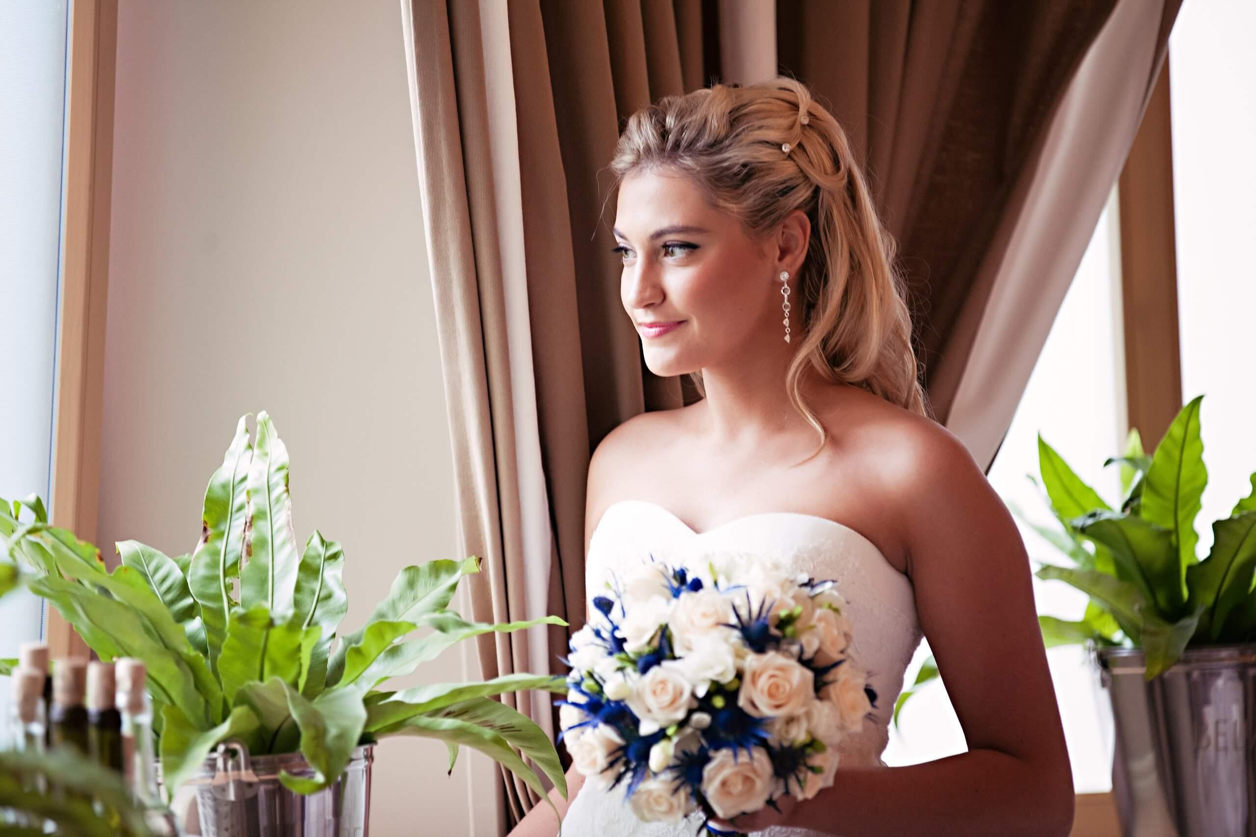невеста морская свадьба Могилев организация и декор свадьбы украшение зала