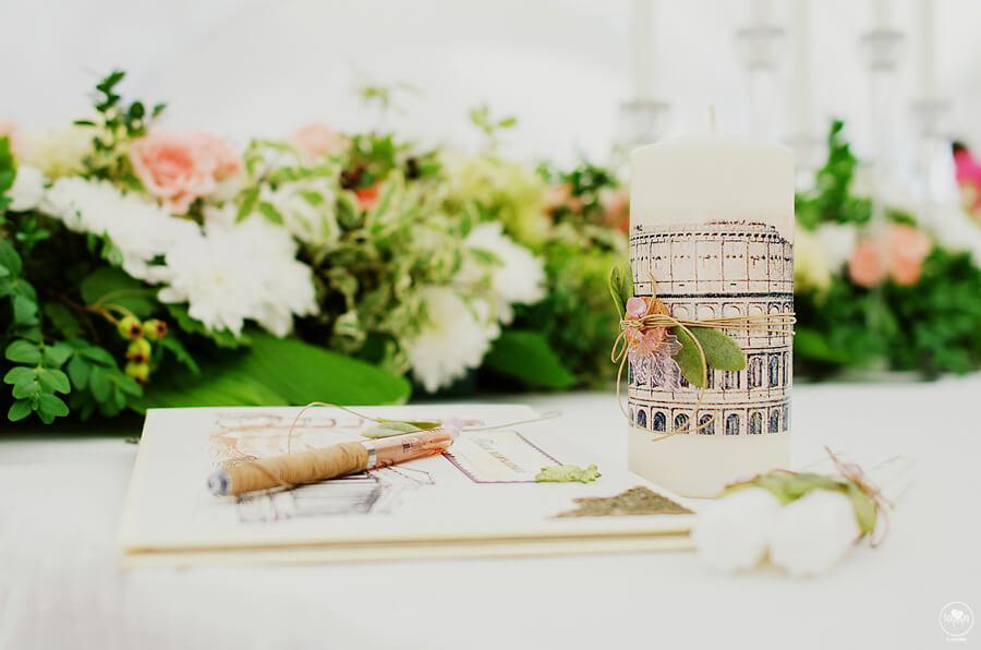 семейный очаг итальянская зеленая салатовая свадьба выездная регистрация церемония роспись в шатре у куркуля могилев свадебное агентство ЛавМи декор украшение шатра организация