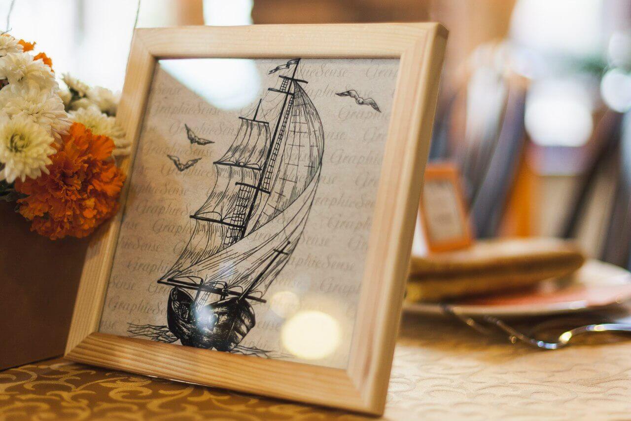 картинки с кораблями Свадьба в стиле путешествия Шале Могилев Организация свадьбы декор украшение зала свадебное агентство ЛавМи